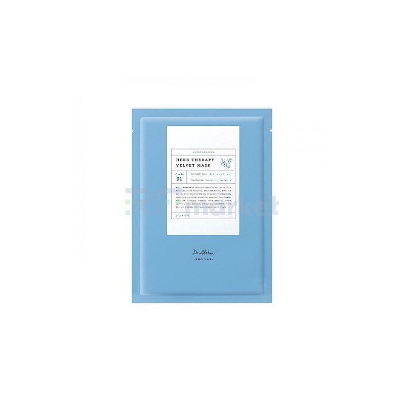 Dr.Althea Маска тканевая успокаивающая - Pro lab herb therapy velvet mask, 27г
