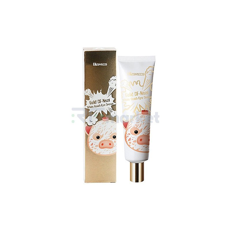 Elizavecca Крем для глаз с экстрактом ласточкиного гнезда - Gold Cf nest white bomb eye cream, 30мл