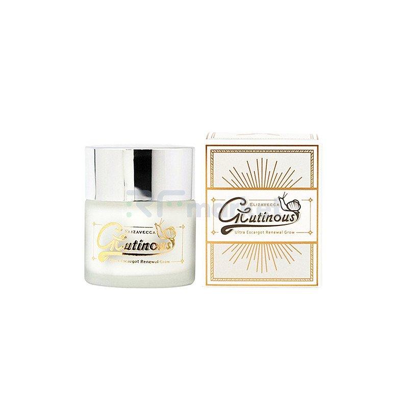 Elizavecca Крем для лица улиточный антивозрастной - Elizavecca glutinous cream, 50мл