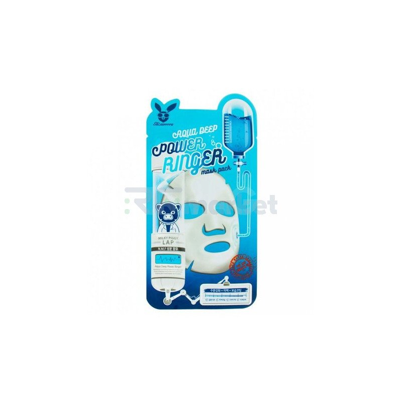 Elizavecca Маска тканевая для лица увлажняющая - Aqua deep power ring mask pack, 23мл