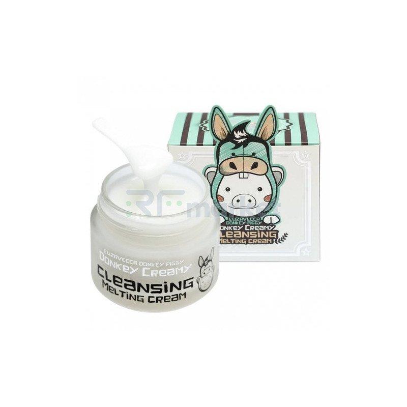 Elizavecca Масло-крем для снятия макияжа - Donkey creamy cleansing melting cream, 100г