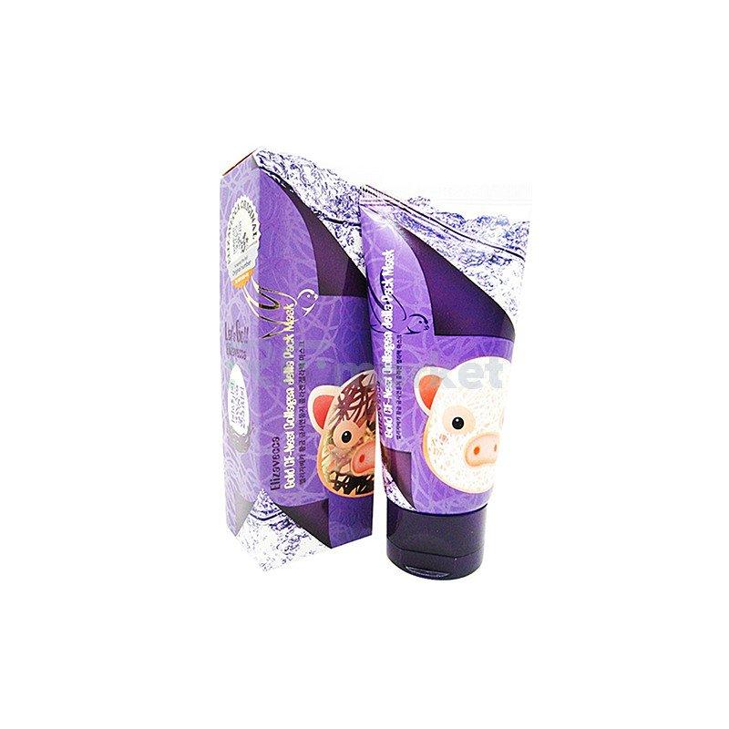Elizavecca Маска-пленка с экстрактом ласточкиного гнезда - GF-Nest collagen jella pack mask, 80мл