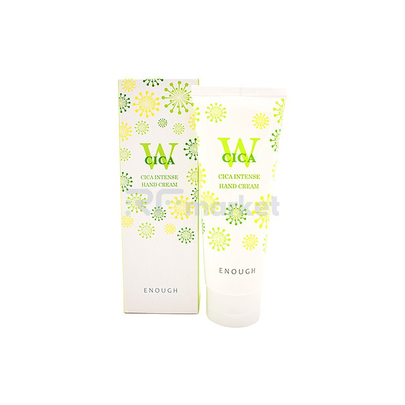 Enough Крем для рук с экстрактом центелллы - W Cica intense hand cream, 100мл