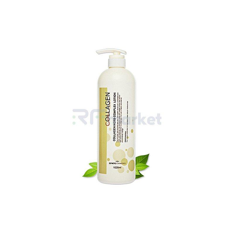 Esthetic House Лосьон для лица коллаген и растит. экстракты - Collagen herb complex lotion, 1000мл