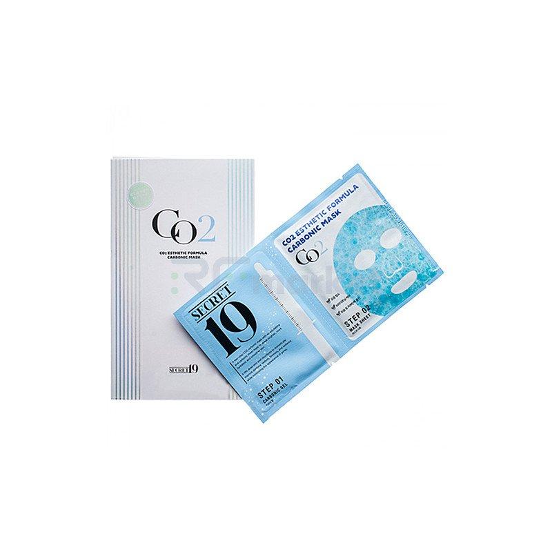 Esthetic House Маска и гель-активатор Карбокситерапия (пауч) CO2 Esthetic formula carbonic mask,1 шт