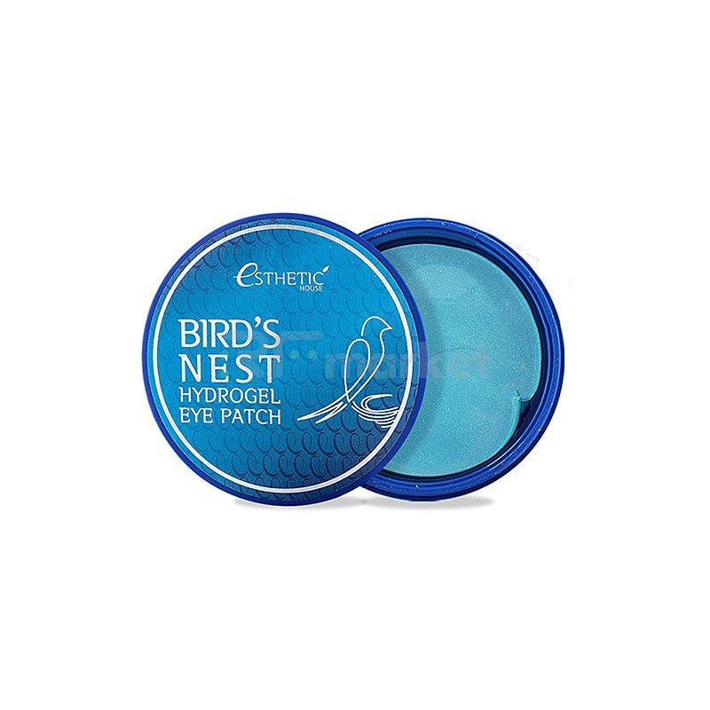 Esthetic House Патчи гидрогелевые с экстрактом ласточкиного гнезда - Bird's nest hydrogel eye, 60шт