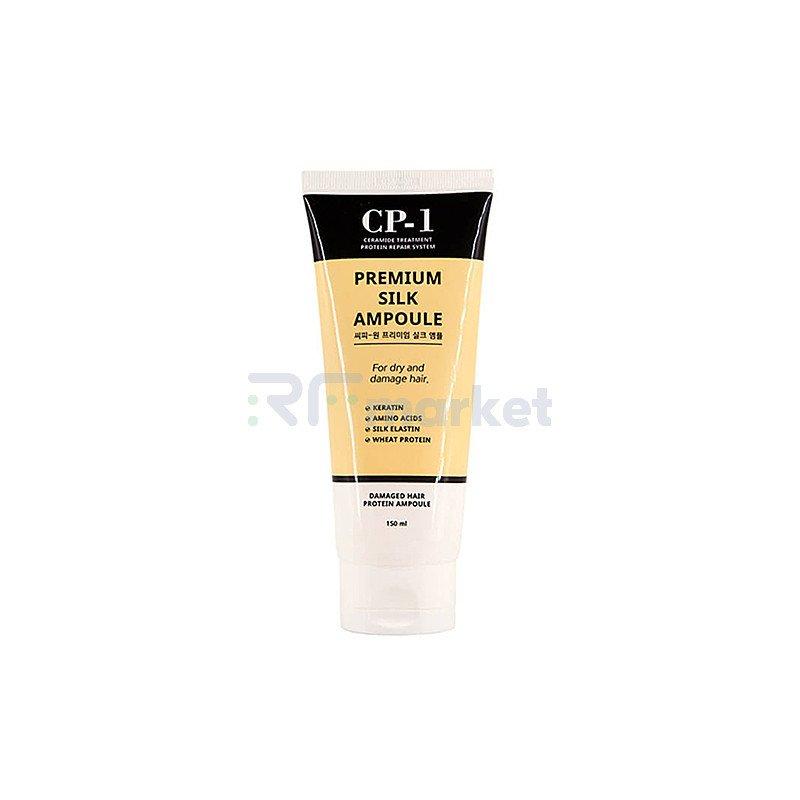 Esthetic House Сыворотка несмываемая для волос с протеинами шелка - CP-1 Premium silk ampoule, 150мл