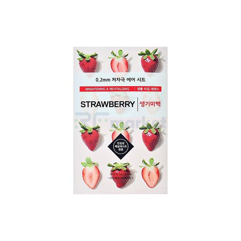 Etude House Маска тканевая с экстрактом клубники - Therapy air mask strawberry, 20мл