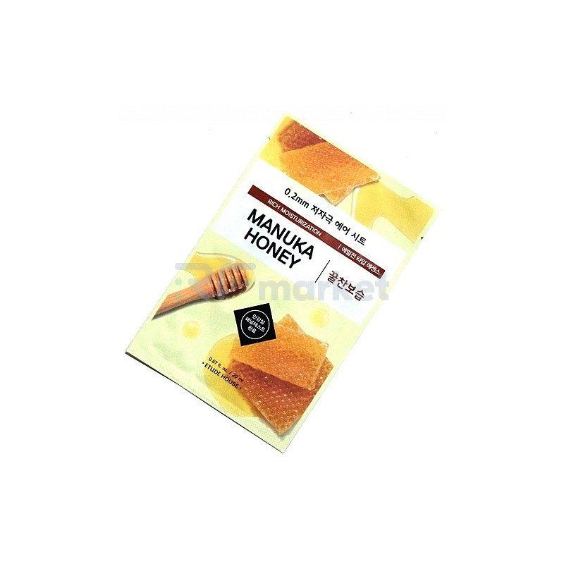 Etude House Маска тканевая с экстрактом мёда - Therapy air mask manuka honey, 20мл