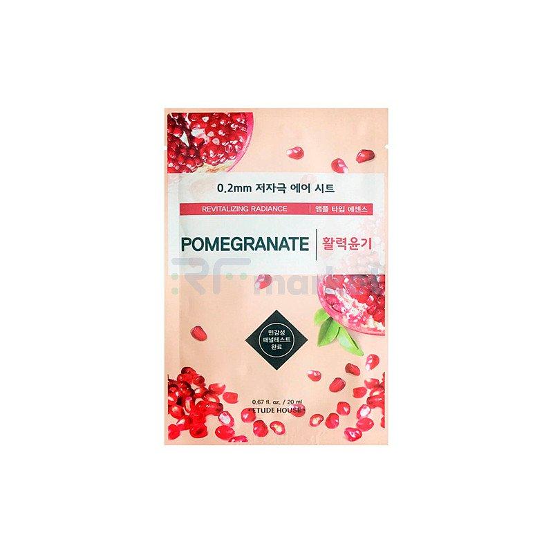 Etude House Маска тканевая с экстрактом граната - Therapy air mask pomegranate, 20мл