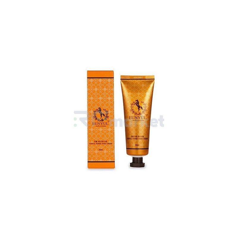 Eunyul Крем для рук с лошадиным маслом - Horse oil hand cream, 50мл