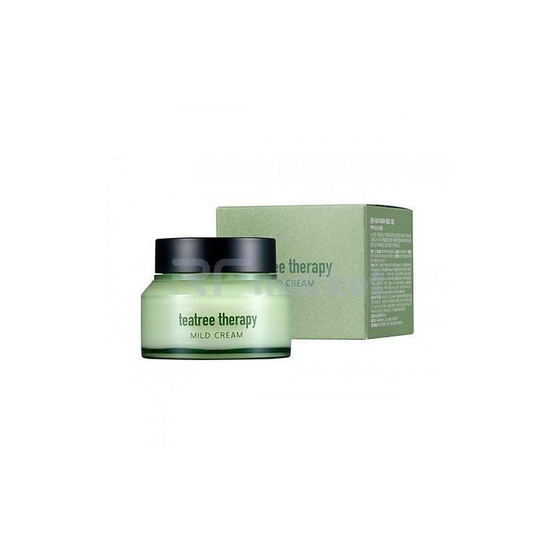 Eunyul Крем с экстрактом чайного дерева - Tea tree therapy mild cream, 70г