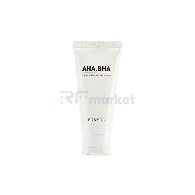 Eunyul Крем обновляющий с AHA и BHA кислотами - AHA BHA clean exfoliating cream, 50г