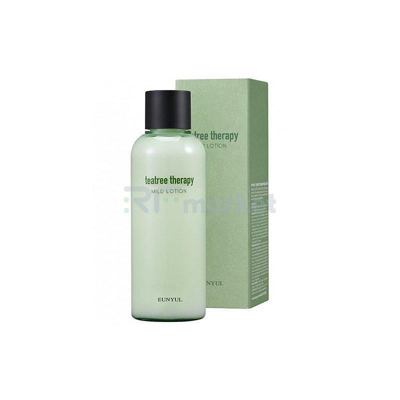Eunyul Лосьон с экстрактом чайного дерева - Tea tree therapy mild lotion, 180мл
