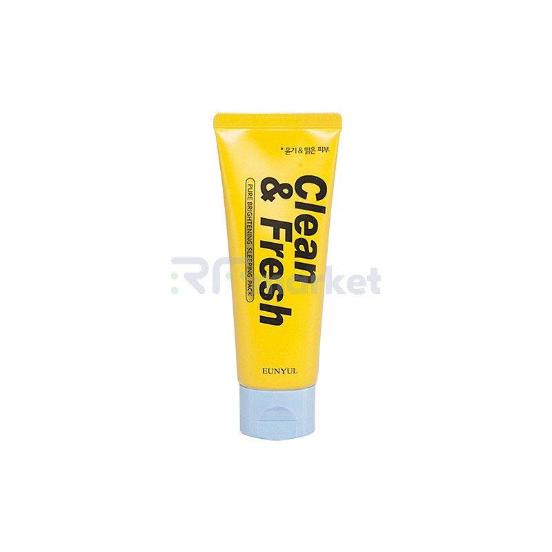 Eunyul Маска ночная для сияния кожи - Clean & fresh pure brightening sleeping pack, 120мл