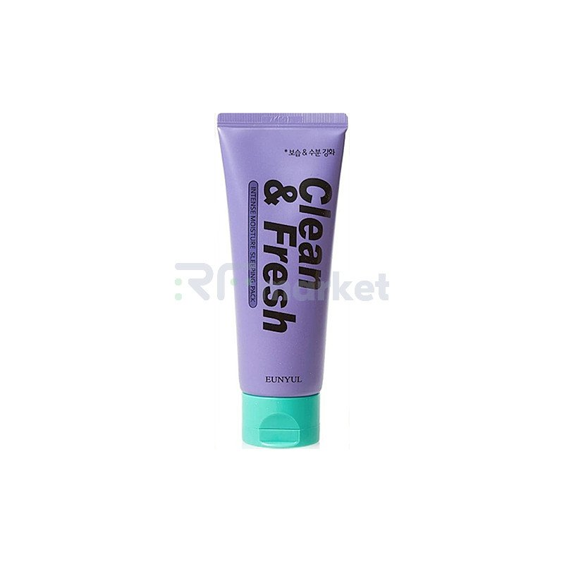 Eunyul Маска ночная интенсивно увлажняющая - Clean & fresh intense moisture sleeping pack, 120мл