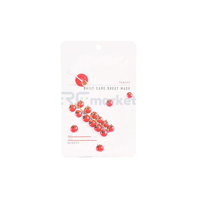Eunyul Маска тканевая для лица с экстрактом томата -  Tomato daily care sheet mask, 22г