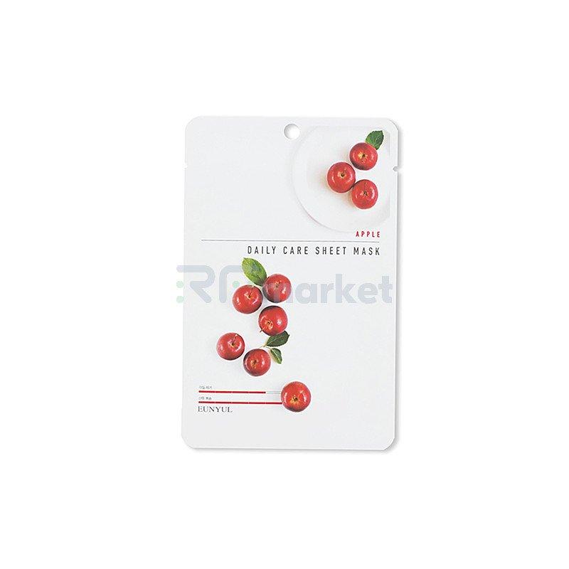 Eunyul Маска тканевая для лица с экстрактом яблока - Apple daily care sheet mask, 22г