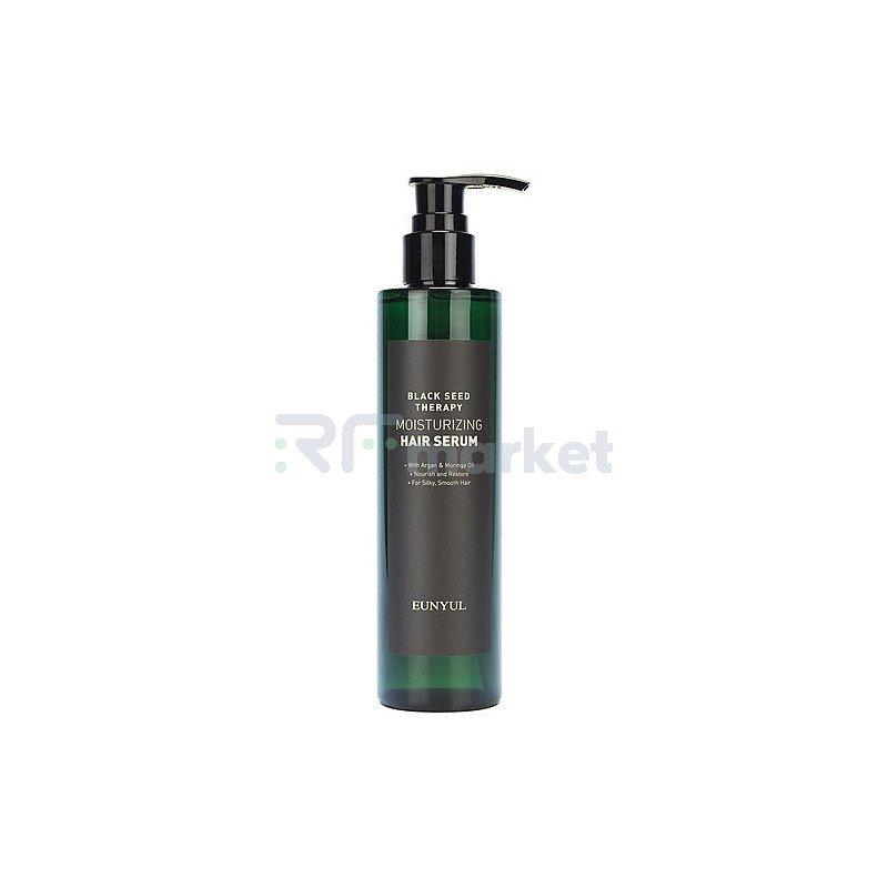 Eunyul Сыворотка для волос с маслом арганы и моринги - Black seed therapy moisturizing, 200мл