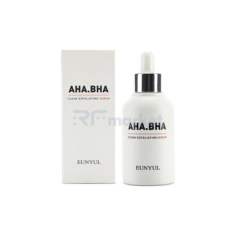 Eunyul Сыворотка обновляющая с AHA и BHA кислотами - AHA BHA clean exfoliating, 50мл