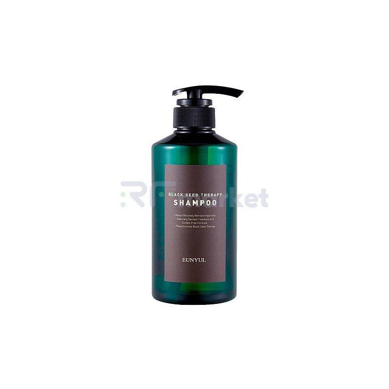Eunyul Шампунь для волос с маслом черного тмина - Black seed therapy shampoo, 500мл