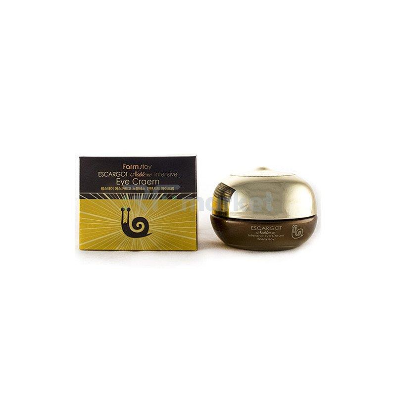 FarmStay Крем для глаз премиальный с экстрактом улитки - Escargot noblesse intensive eye cream, 50мл