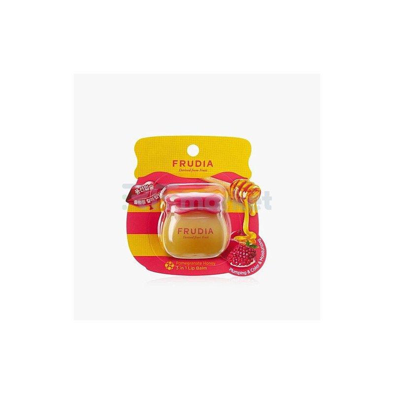 Frudia Бальзам для губ с гранатом 3в1 - Pomegranate honey 3in1 lip balm, 10г