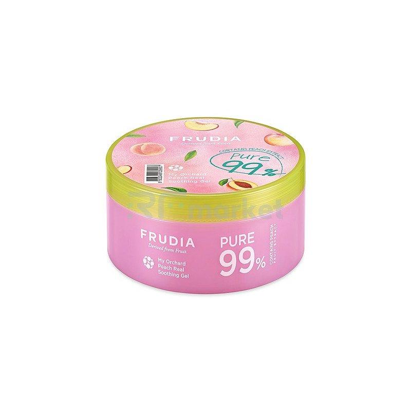 Frudia Гель увлажняющий с персиком - My orchard peach real soothing gel, 500мл