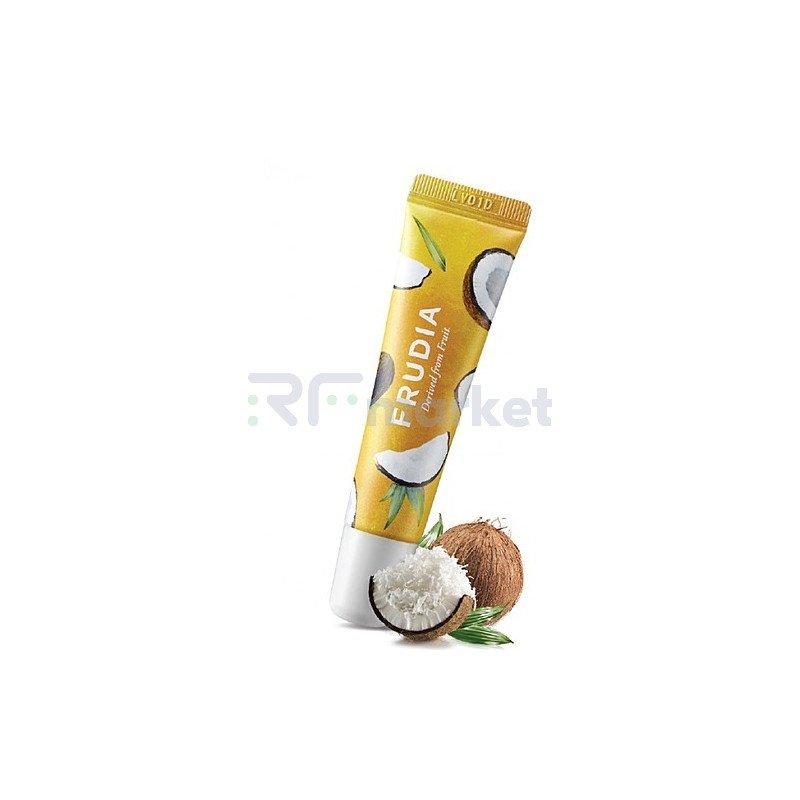 Frudia Крем для губ смягчающий с кокосом - Coconut honey salve lip cream, 10г