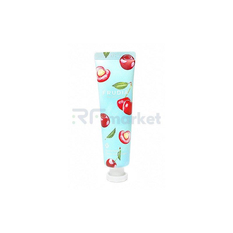 Frudia Крем для рук c вишней  - Squeeze therapy cherry hand cream, 30г