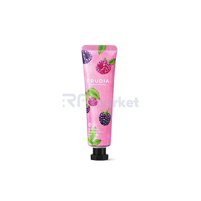 Frudia Крем для рук с дикой малиной - My orchard raspberry wine hand cream, 30г