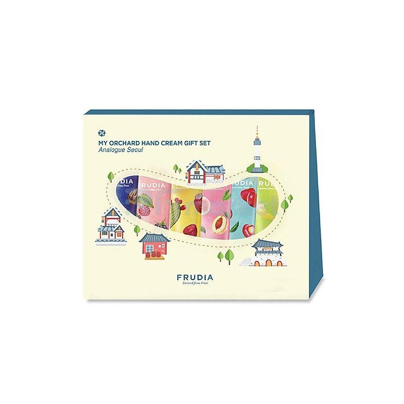 Frudia Подарочный набор кремов для рук - Analogue seoul my orchard hand cream gift set, 6*30 мл