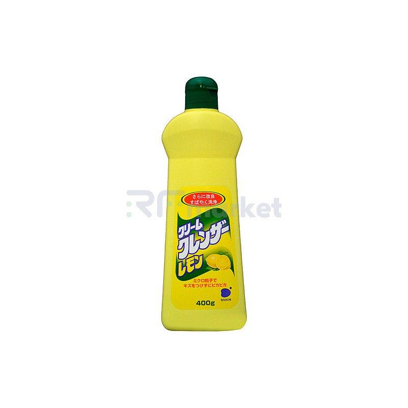 Funs Крем чистящий для кухни и посуды с ароматом лимона, 400мл