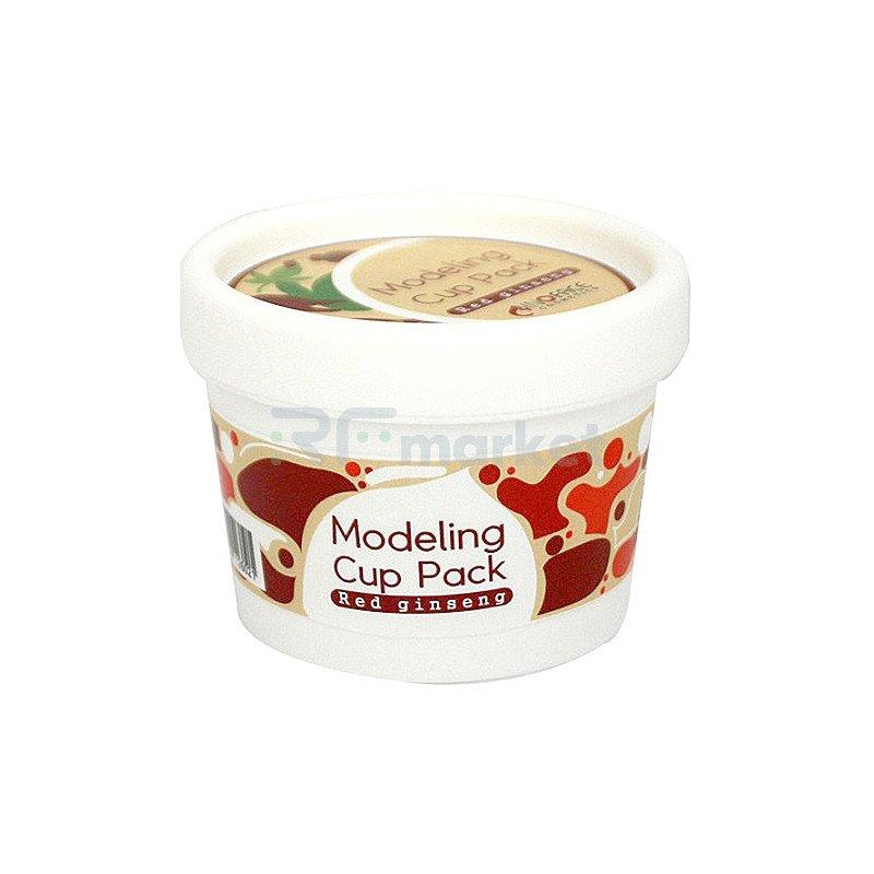 Inoface Маска альгинатная с красным женьшенем - Modeling cup pack red ginseng, 18г