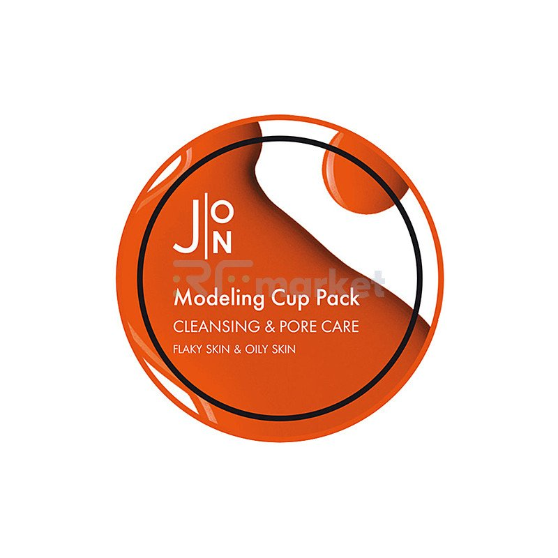 J:on Маска альгинатная oчищение и сужение пор - Cleansing & pore care modeling pack, 18мл