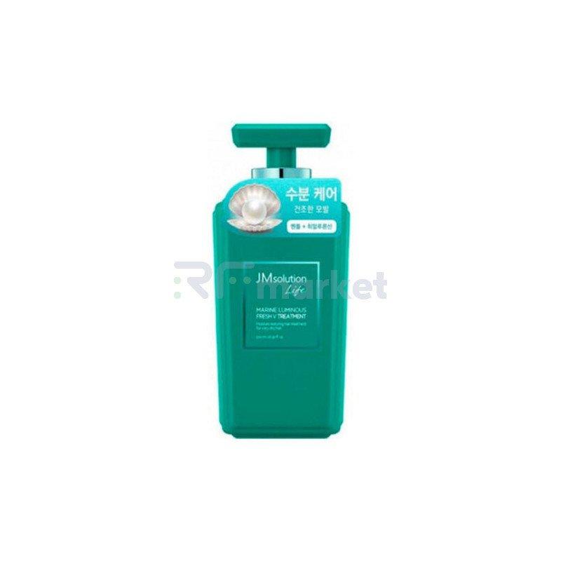 JMsolution Кондиционер для волос с жемчугом - Solution marine luminous fresh treatmen, 500мл