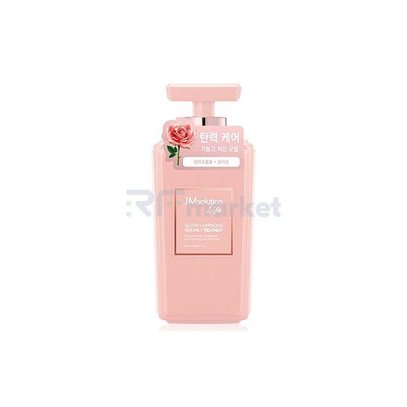 JMsolution Кондиционер для волос с экстрактом дамасской розы - Glow luminous porfume, 500мл