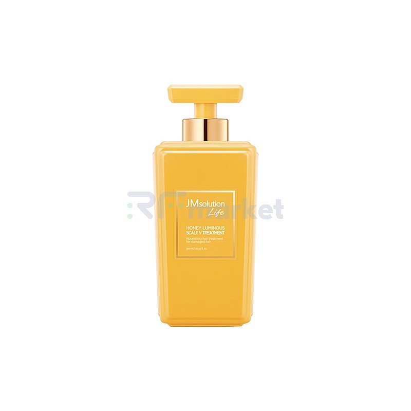 JMsolution Кондиционер для волос с экстрактом меда - Solution honey luminous scalp Vtreatment, 500мл