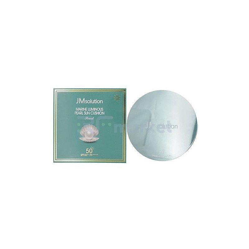 JMsolution Солнцезащитный кушон с экстрактом жемчуга - Marine luminous pearl sun cushion SPF50+, 25г