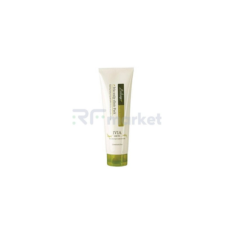 JPS Маска с экстрактом плюща для волос и кожи головы - Labay ivia scalp clinic pack, 250мл