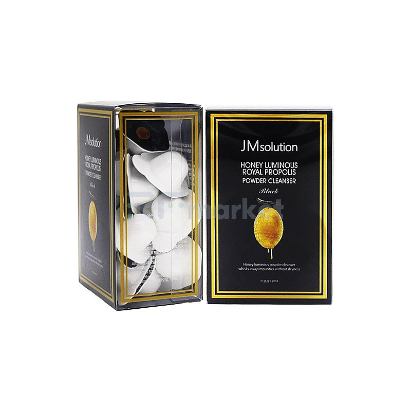JMsolution Энзимная пудра с прополисом - Honey luminous royal propolis powder cleanser, 30*0,35г