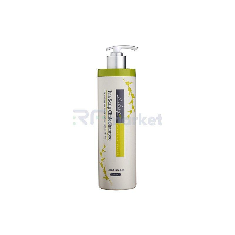 JPS Шампунь с экстрактом плюща - Labay ivia scalp clinic shampoo, 500мл
