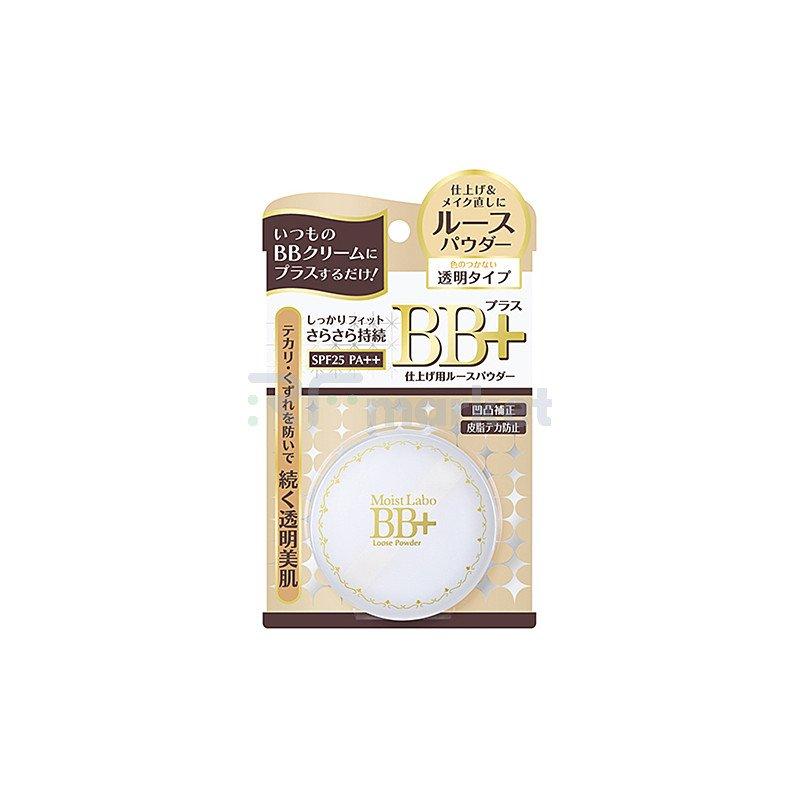 Meishoku Пудра рассыпчатая минеральная с жемчугом - Moisto-labo bb mineral foundation, 13г