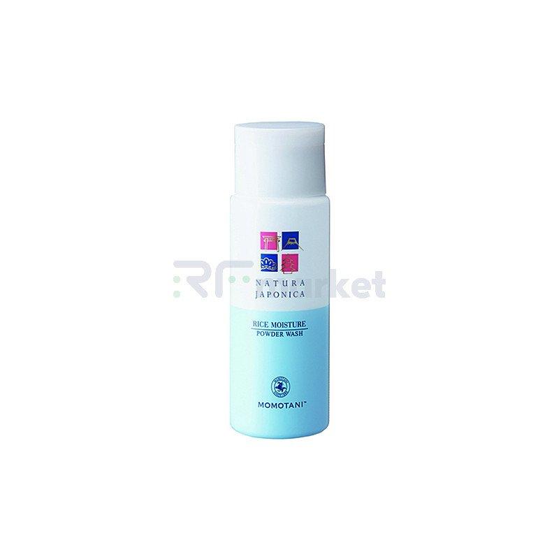 Momotani Пудра для умывания увлажняющая с экстрактом риса - Nj rice moisture powder wash, 60г