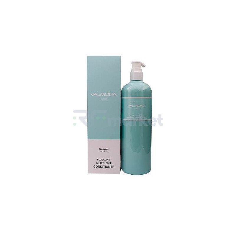 Valmona Кондиционер для волос увлажнение - Recharge solution blue clinic nutrient conditioner, 480мл