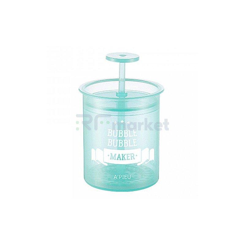 A'Pieu Стакан-помпа для создания пышной пены - Bubble bubble maker mint, 1шт