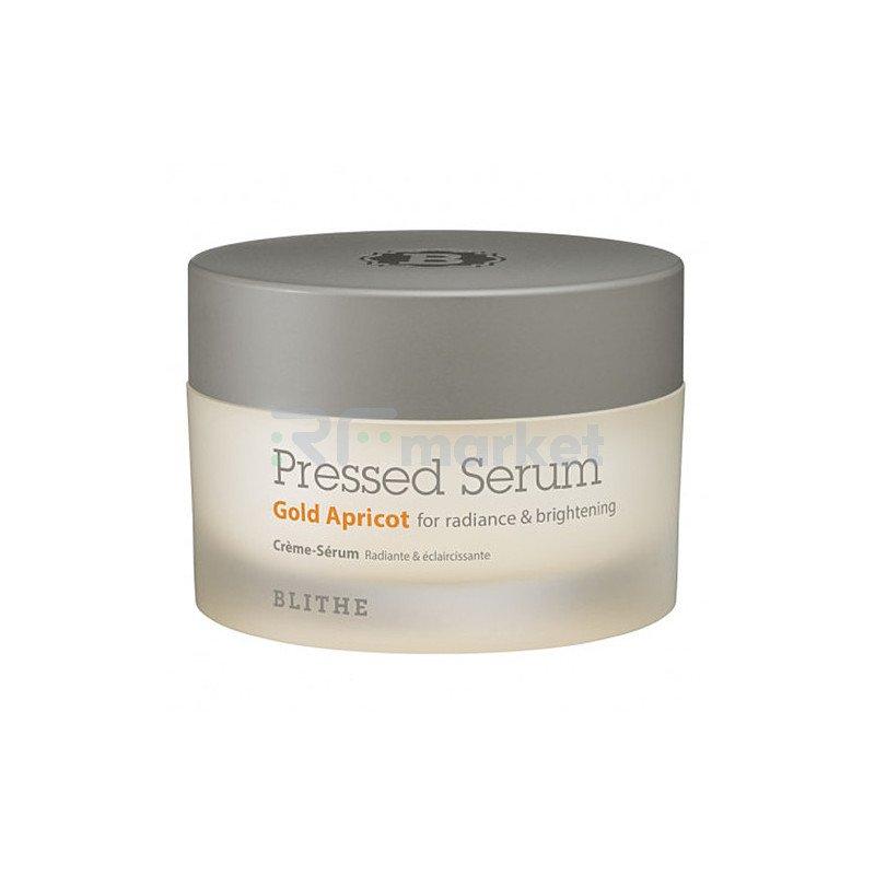 Blithe Сыворотка-крем спрессованная для сияния кожи лица - Pressed serum gold apricot, 50мл