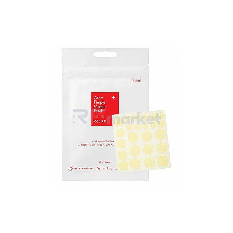 Cosrx Патчи против акне прозрачные - Acne pimple master patch, 24шт