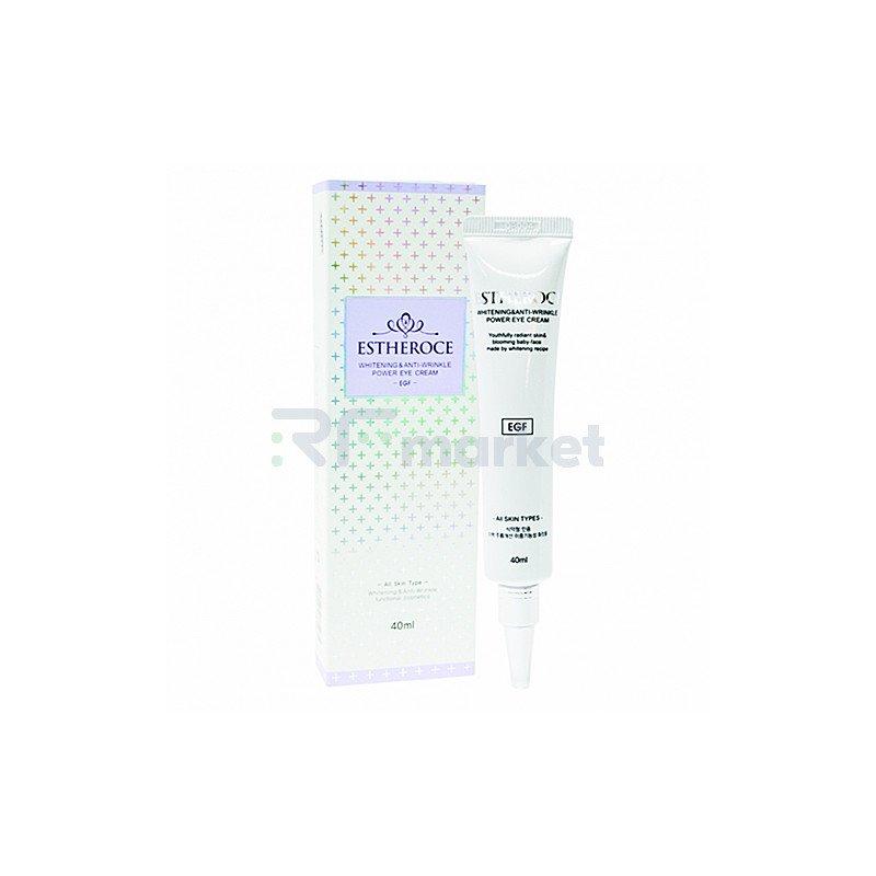 Deoproce Крем для век омолаживающий с EGF - Estheroce whitening & anti-wrinkle power eye cream, 40мл