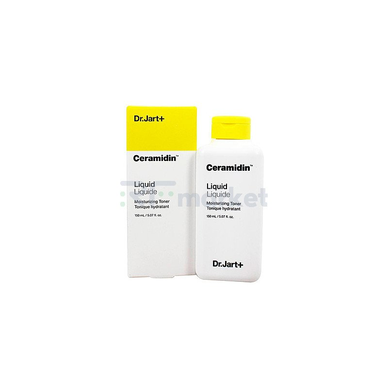 Dr.Jart+ Тонер для лица с керамидами - Ceramidin liquid moisturizing toner, 150мл